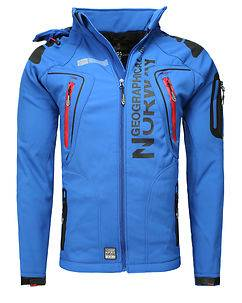 Geographical Norway Tambour-Taco Softshell Jacket Blue