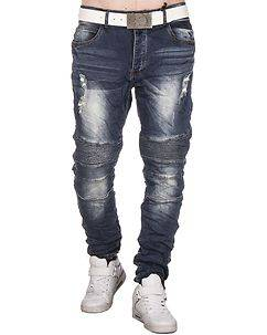 Justing Cason Loose Fit Jeans Denim Blue