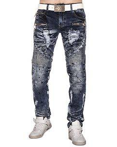 Kosmo Lupo KM-141 Jeans Mixed Blue