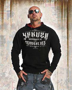 Yakuza Ink Destructive Tendencies Hoodie Black