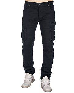MZ72 Brand Etna Cargo Pants Dark Blue