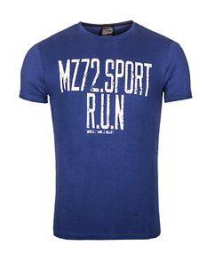 MZ72 Brand The Phil T-Shirt Blue