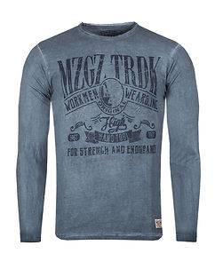 MZGZ Brand The Worker Vintage Blue