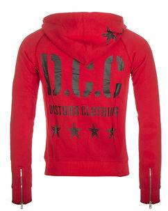 Disturb Clothing DCC Hoodie Red