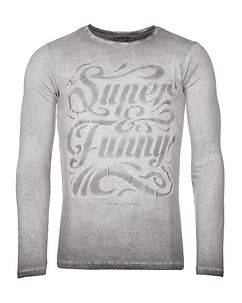 MZ72 Brand The Snow Longsleeve Light Grey