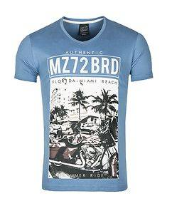 MZ72 Brand The Shore T-Shirt Blue