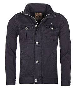 MZGZ Brand Bay Cotton Jacket Navy