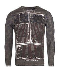 Rusty Neal The Rebellious Longsleeve Anthracite