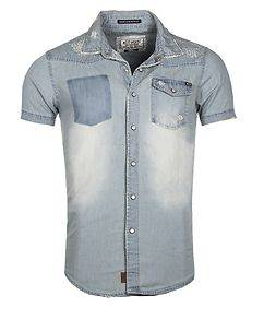 MZ72 Brand Celin Shirt Light Blue