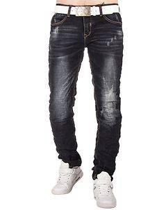 MZ72 Brand Writer Jeans Denim Blue