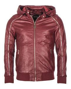 Biker Jacket Butch Bordeaux