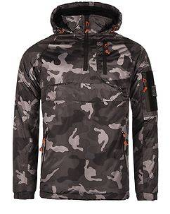 MZ72 Brand Lected Jacket Black Camo