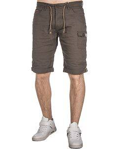 MZ72 Brand Frizzy Bermuda Shorts Brown