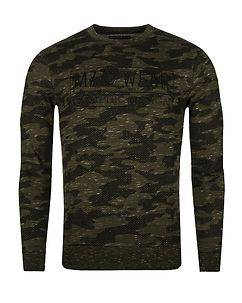 MZ72 Brand June Sweatshirt Green Camo