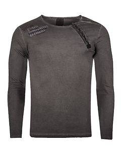 Rusty Neal Element Longsleeve Anthracite