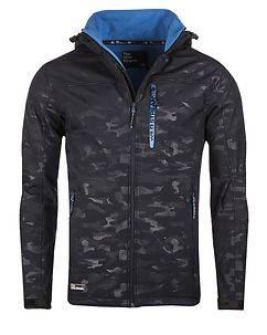 MZ72 Brand Incognito Softshell Jacket Navy Camo