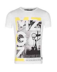 MZGZ Brand The Cross Game White/Yellow