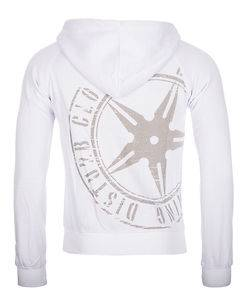 Disturb Clothing The Throwing Star Hoodie White