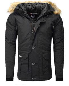 Geographical Norway Boeing Parka Black