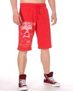 Yakuza Ink Still Shorts Ribbon Red