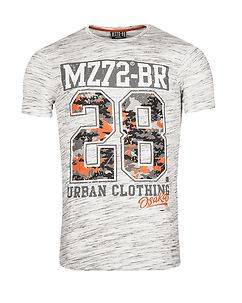 MZ72 Brand The Check T-Shirt White
