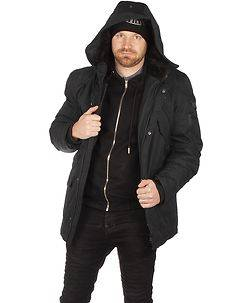 MZ72 Brand Lucky Winter Jacket Black