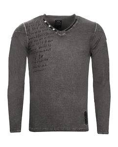 Rusty Neal Rogers Longsleeve Anthracite
