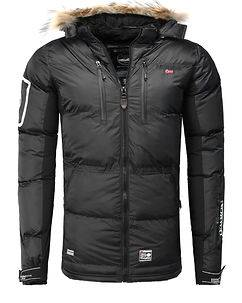 Geographical Norway Danone Parka Black