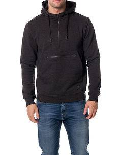 Brave Soul Real Hoodie Anthracite