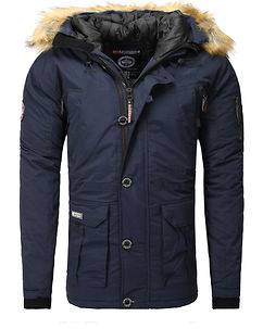 Geographical Norway Boeing Parka Navy