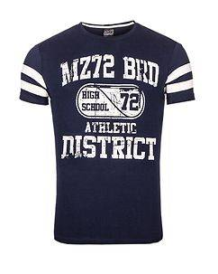 MZ72 Brand The High T-Shirt Navy