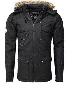 Geographical Norway Chir Parka Black