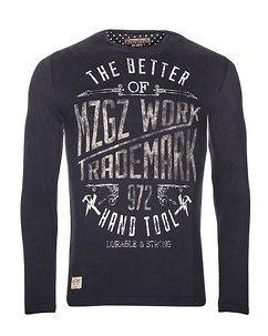 MZGZ Brand The Brand Dark Navy