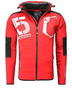 Geographical Norway Taviar Softshell Red