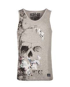 MZGZ Brand The Level Tank Top Grey