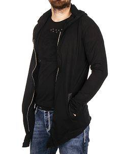 Carisma Howie Hooded Cardigan Black