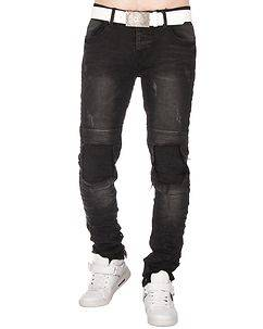 MZ72 Brand Waggy Jeans Black