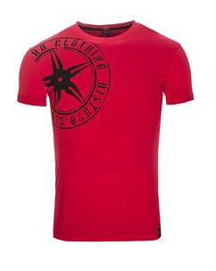 Disturb Clothing The Star Plaque Tee VO2 Red