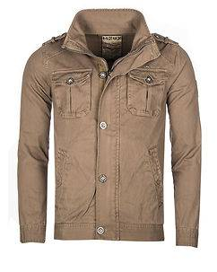 MZGZ Brand Bay Cotton Jacket Sand