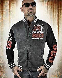 Yakuza Ink Know Your Dealer Jacket Dark Grey