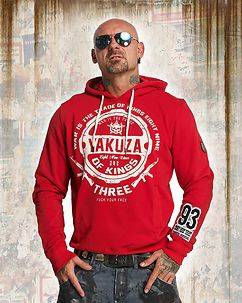 Yakuza Ink Trade Of Kings Hoodie Red