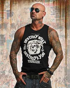 Yakuza Ink Destroy Tank Black