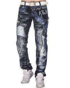 Kosmo Lupo KM-322 Jeans Mixed Blue