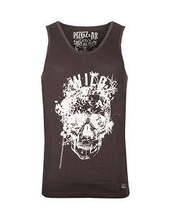 MZGZ Brand The Level Wild Tank Top Brown