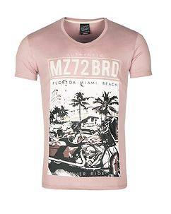 MZ72 Brand The Shore T-Shirt Pink