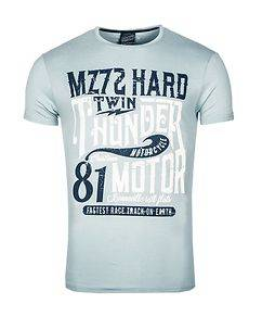 MZ72 Brand The Device T-Shirt Light Blue
