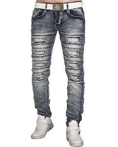Justing Daxton Jeans Ripped Denim Blue