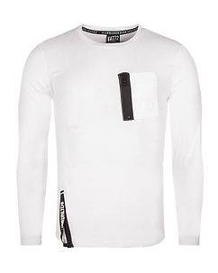 MZGZ Brand Tocamou Longsleeve White