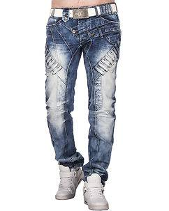 Highness Quinlan Jeans Blue