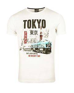 MZ72 Brand The City T-Shirt Off White